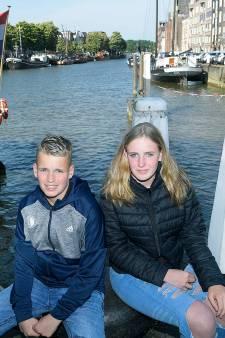 Sven en Fenna zwemmen City Swim voor hun vader die stierf na zijn deelname