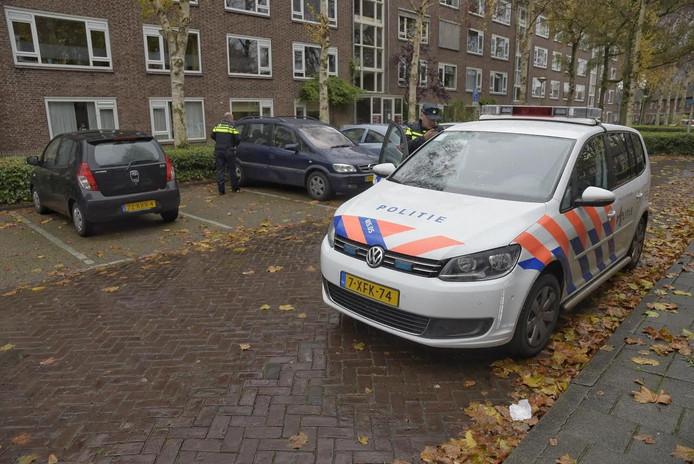De politie zou de auto van de winkeldief hebben gevonden.