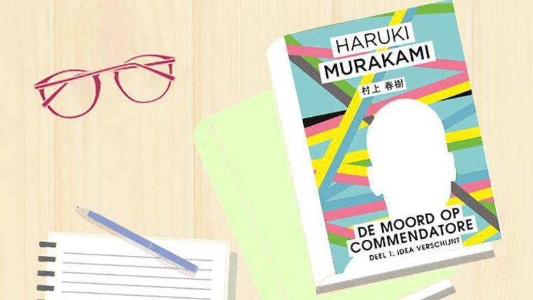 De moord op Commendatore, het nieuwste boek van Murakami. Beeld null