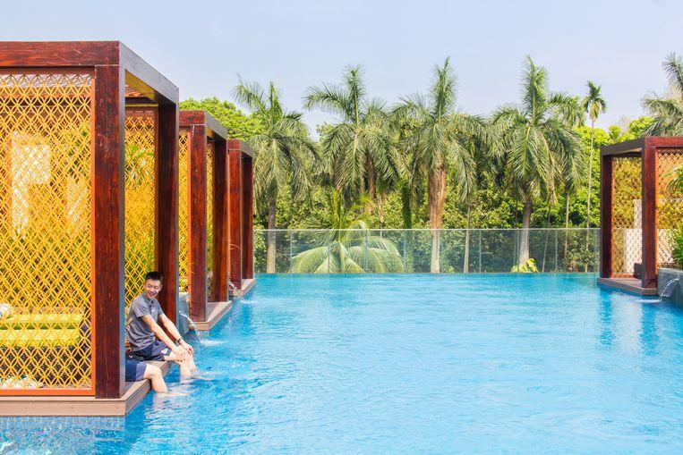 Hotel InterContinental is een goede uitvalsbasis voor de Dhaka Art Summit en kunstgaleries in Dhanmondi. Beeld null