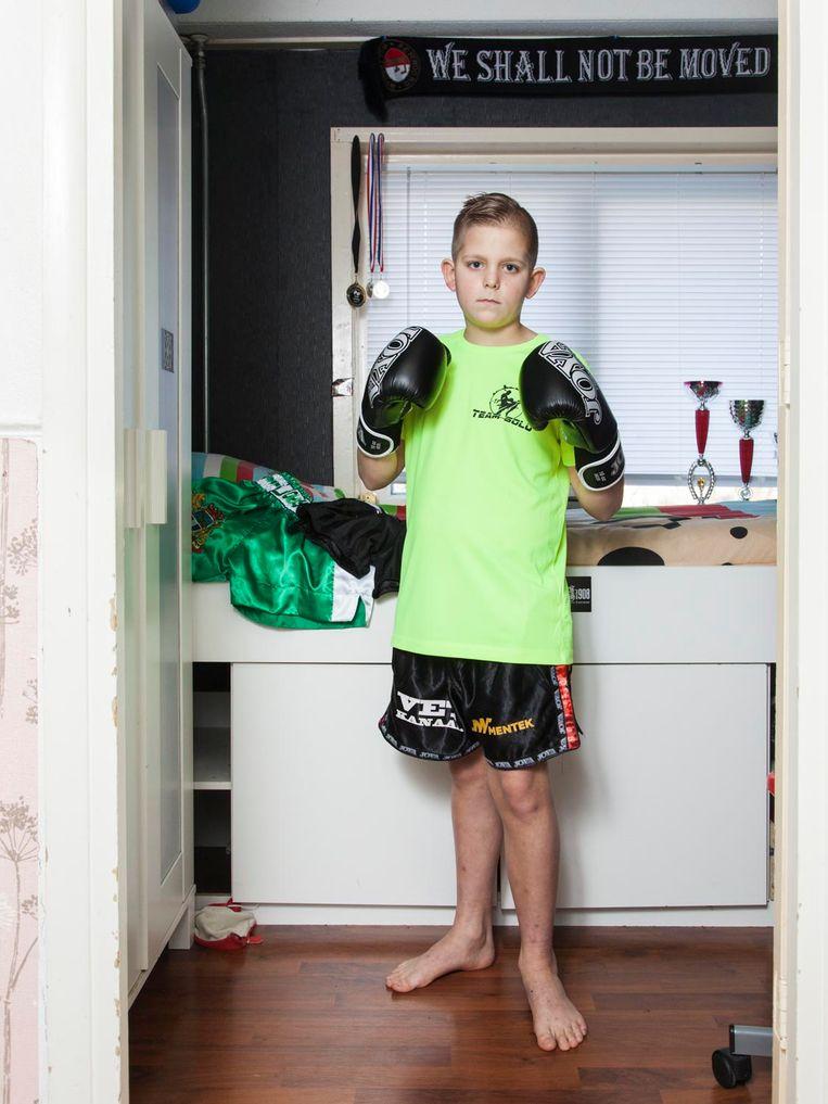 Mikey Laghuwitz (10) Beeld Adriaan van der Ploeg