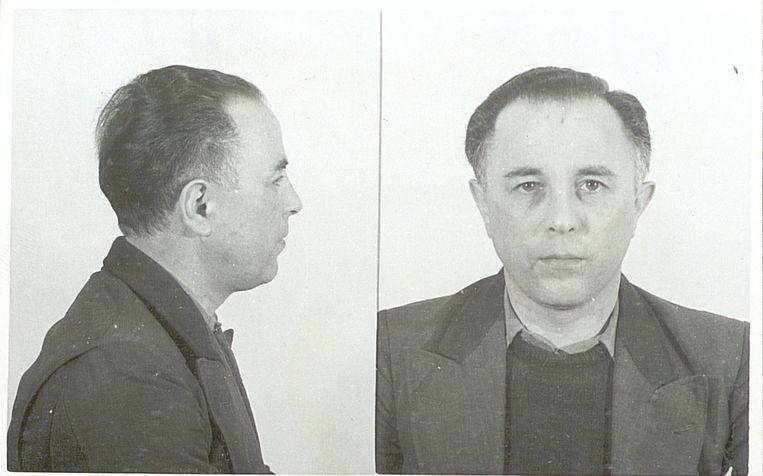 Foto's van Kotalla uit zijn psychiatrisch rapport in 1951. Bron: Nationaal Archief  Beeld Nationaal Archief