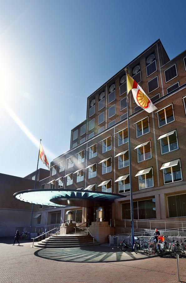 Het hoofdkantoor van Shell in Den Haag.