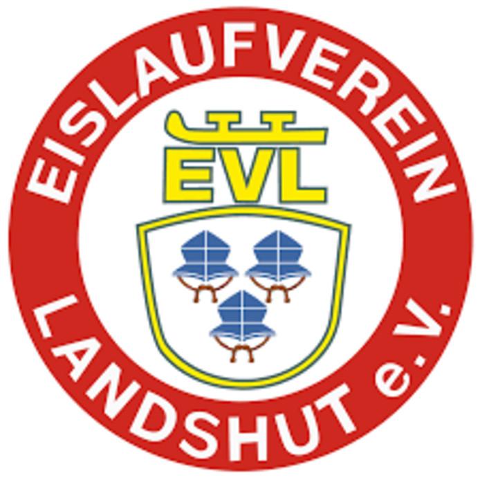 Het logo van EV Landshut