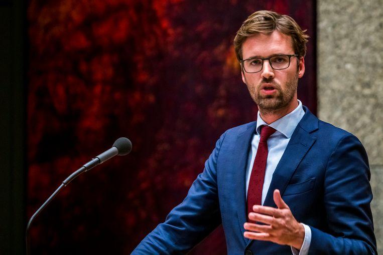 """Jarenlang ijverde Kamerlid Sjoerd Sjoerdsma (D66) in binnen- en buitenland voor de nieuwe wet. """"Straffeloosheid dreigt wereldwijd de norm te worden."""" Beeld ANP"""