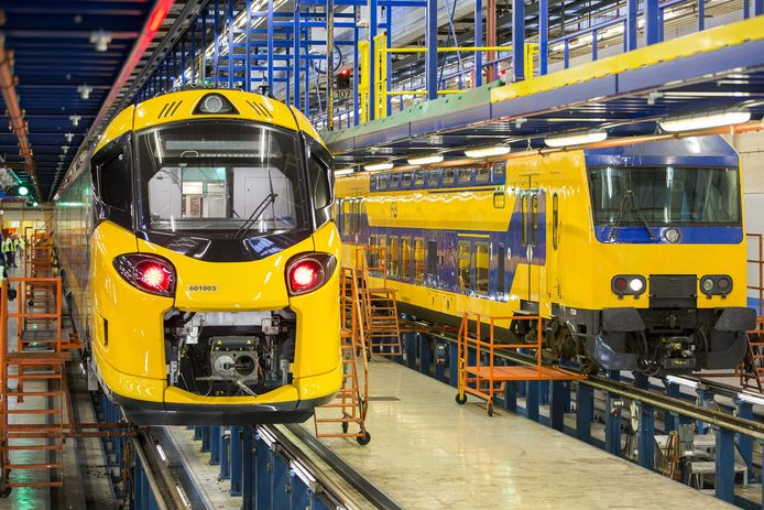 De Intercity Nieuwe Generatie.