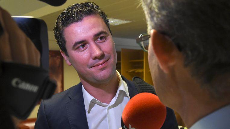 Joris Vandenbroucke is de nieuwe Vlaamse sp.a-fractieleider.