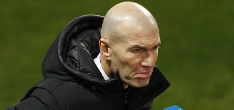 """Zidane après l'élimination du Real contre un club de D3: """"C'est ma faute"""""""