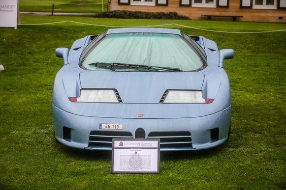 De bugatti EB110 was de inspiratiebron voor de centodieci.