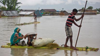 Meer dan 200 doden door moessonregen in Azië