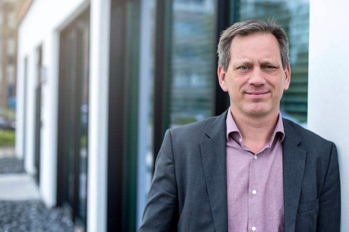 Directeur Dick ten Voorde van ontwikkelingsmaatschappij Impuls Zeeland