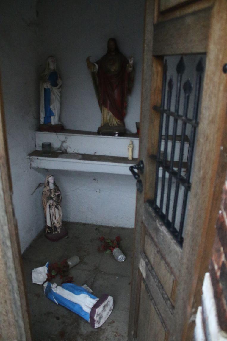 Kapelletje mikpunt van vandalen in Tremelo