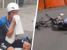 Campenaerts furieux après sa chute dans le chrono d'ouverture au Giro