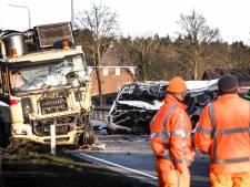 Zware crash op N270 bij Helmond kost vijf uitzendkrachten het leven
