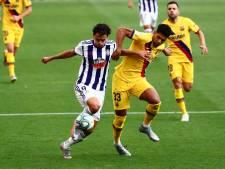 Barça wint bij Valladolid dankzij assist Messi en goal Vidal