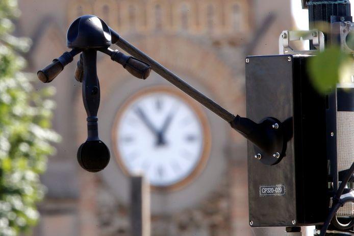 De geluidsradar, zoals die in Parijs wordt gebruikt om herriemakers aan te pakken.