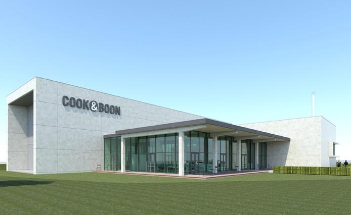 De nieuwe koffiebranderij van Cook & Boon. Impressie Dedato ontwerpers en architecten