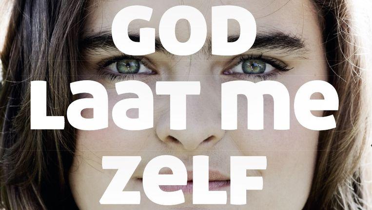 'Mijn God laat me zelf denken.' Fragment van een van de posters. Beeld Remonstranten