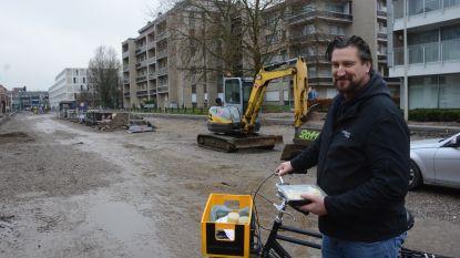 Handelaars springen creatief om met wegenwerken: cateraar Steve Lombaerts levert maaltijden met de fiets