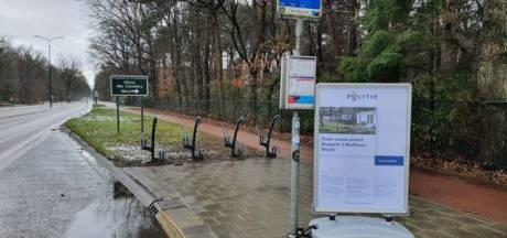 Stoepborden geplaatst in buurt vakantiepark Mierlo in zaak dode Eindhovense vrouw