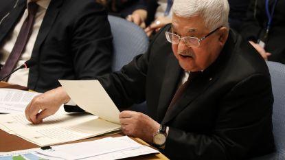 """Palestijnse president hekelt Amerikaans vredesplan op VN-Veiligheidsraad: """"Wie van jullie zou zo'n staat accepteren?"""""""
