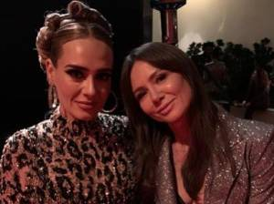 Adele a surpris tout le monde avec sa nouvelle silhouette aux Oscars