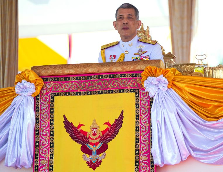 Koning Maha Vajiralongkorn van Thailand.