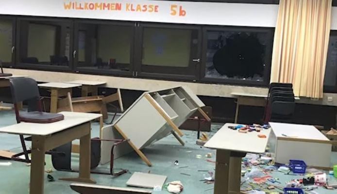 Les classes ne ressemblent plus à rien. Les dégâts sont estimés à 150.000 euros