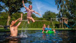 """Na corona en hittegolven tot 60 procent meer bestellingen voor zwembaden: """"Mensen willen zeker zijn dat ze thuis ook een leuke vakantie kunnen beleven"""""""