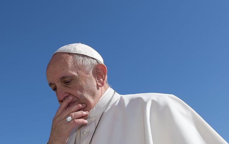 Paus Franciscus. Beeld Photo News
