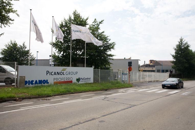 Het hoofdkwartier van Picanol.