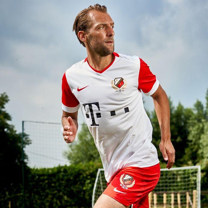 Het nieuwe thuisshirt van FC Utrecht.