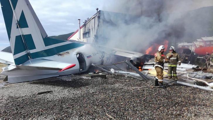 Doden bij crash tijdens noodlanding in Rusland