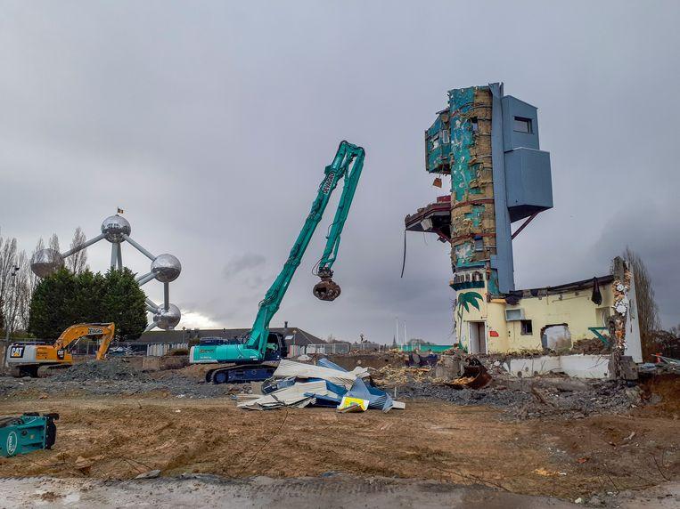 Laatste stukken van Océade worden afgebroken.