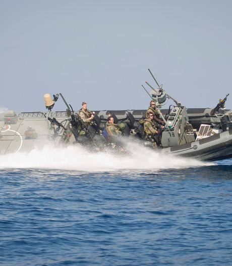 'Chroom-6 gebruikt op snelle rubberboten Koninklijke Marine'