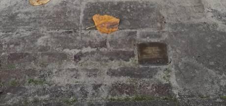 Stolperstein in Hengelose straat even verdwenen