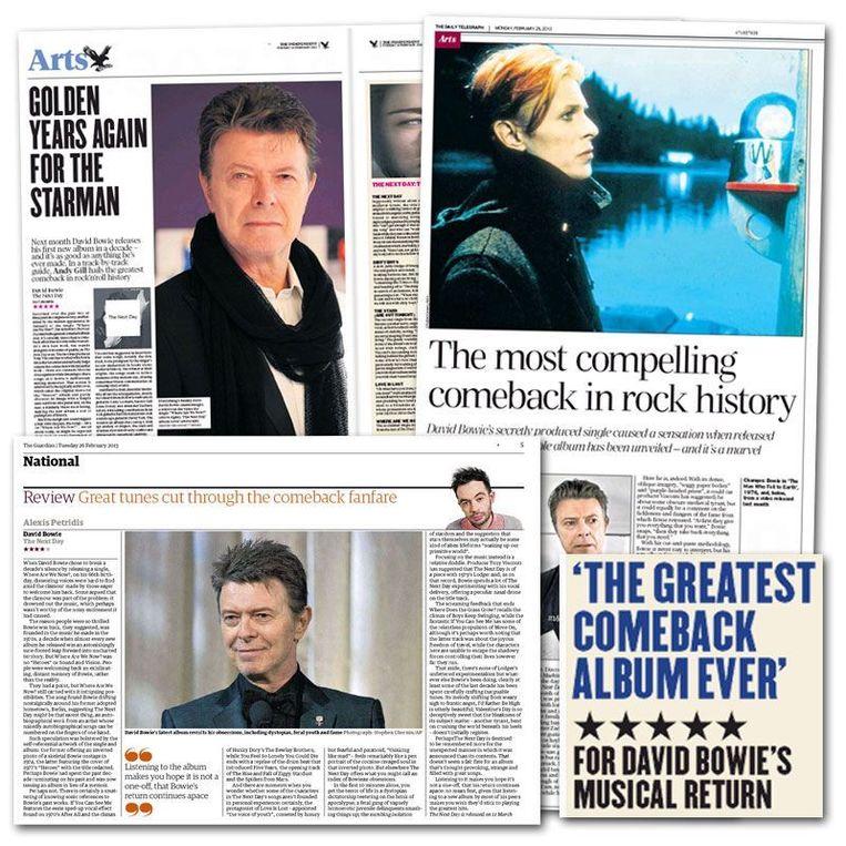 Britse kranten Beeld