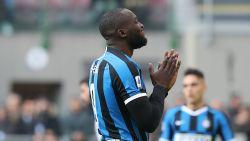 LIVE. Loodst Lukaku Inter naar een plek in halve finales van Coppa Italia?