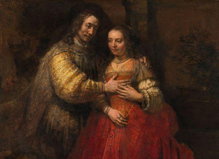 Het Joodse bruidje van Rembrandt. Beeld Rijksmuseum