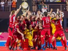 Belgische koning ontvangt hockeyers