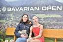 Lindsay en haar coach Antje Bocklandt