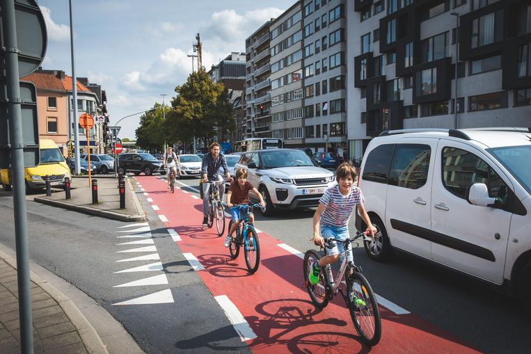 De meest bekende wegaanduiding: het fietspad.