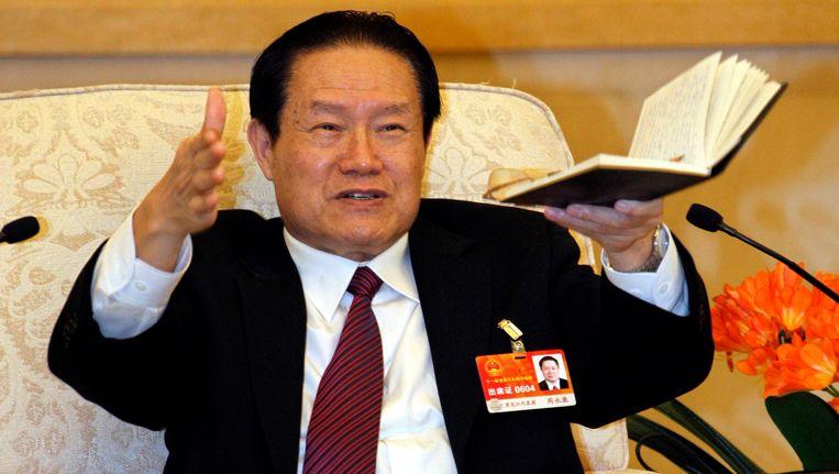 Zhou Yongkang. Beeld reuters
