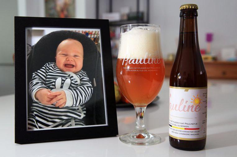 'Geniet van het plezier dat Paulinetje ons voor altijd zal schenken. Bier met een sterk karakter voor een nog sterkere madame.' Dat staat te lezen op het etiket van het Paulinebier.