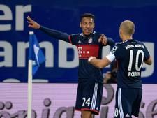 Bayern met Robben door zege naast Dortmund aan kop