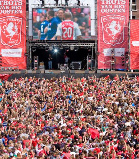 Kampioensduel FC Twente toch op grote schermen in Enschede