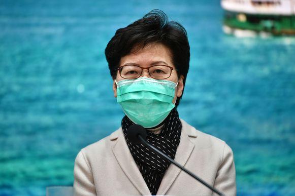 Regeringsleidster Carrie Lam.