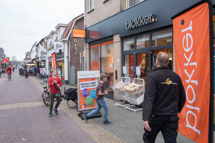 Een van de ruim 400 Blokker-winkels in Nederland.