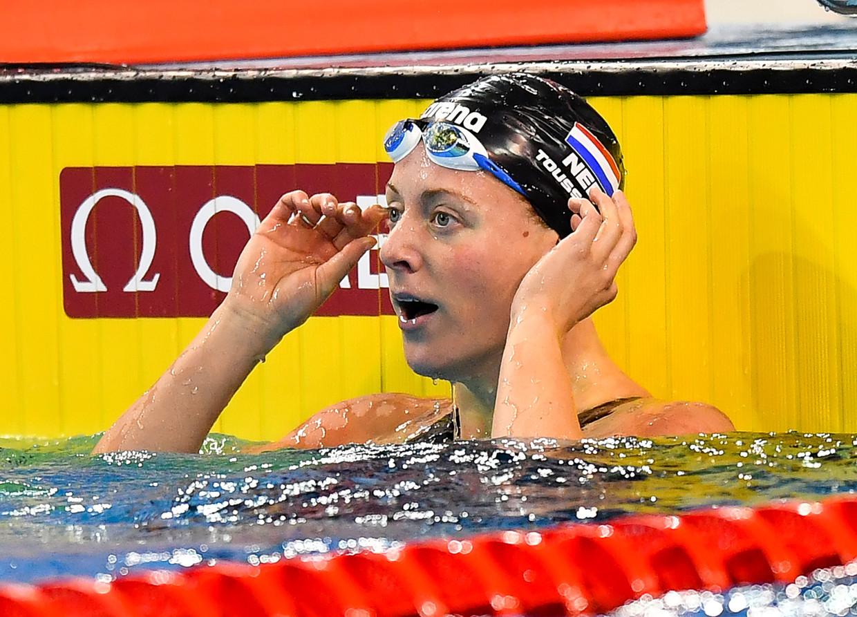 Kira Toussaint zou dit jaar ook deelnemen de International Swimming League.  'Ik heb wereldkampioenen zien thuiskomen met nul euro.'
