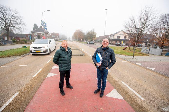 Nico Dijkman en Gerard Nij Bijvank (bril)
